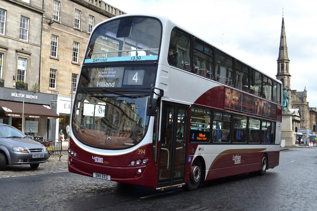 Lothian Buses Volvo B9TL 394.SN11EEG - Edinburgh | Lothian B… | Flickr