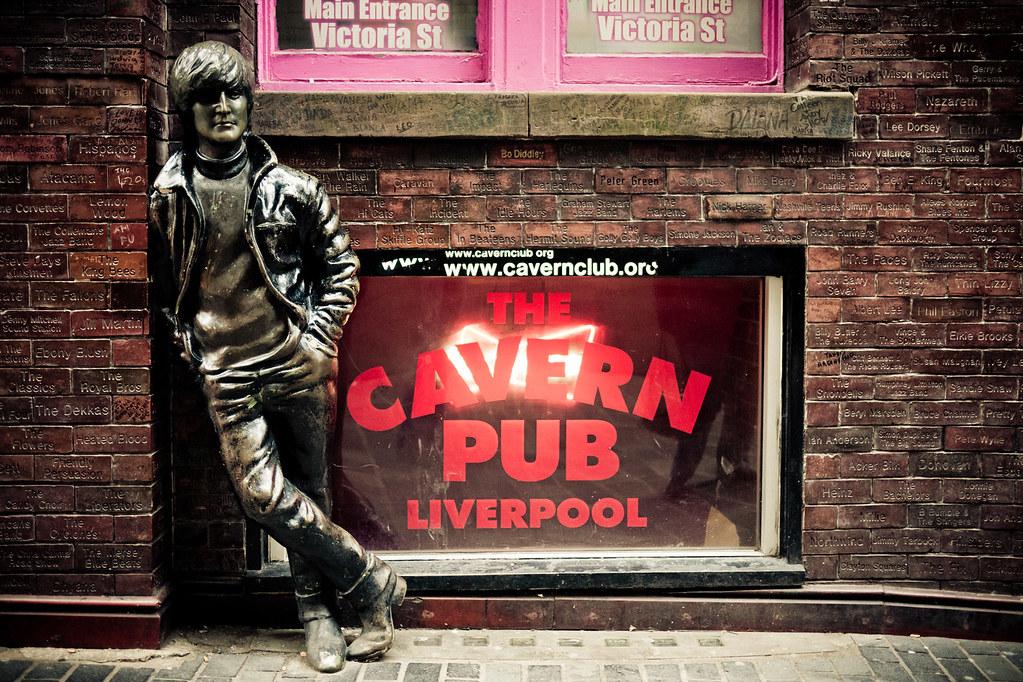El mítico Cavern Pub, Liverpool