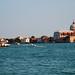Venice - The Chiesa del Santissimo from Across the Canale della Giudecca