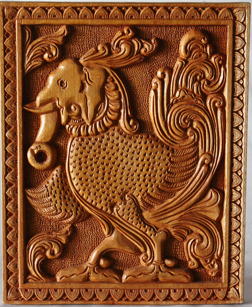 Wood carving kandyan art association flickr