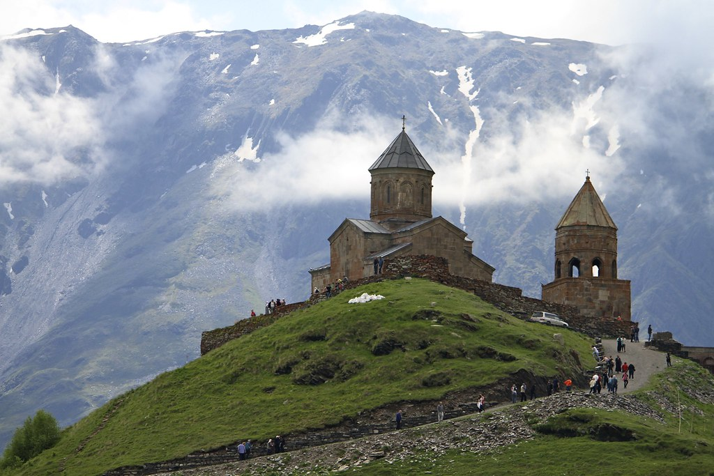 Gergeti Trinity Church | Gergeti Trinity Church, Kazbegi ...