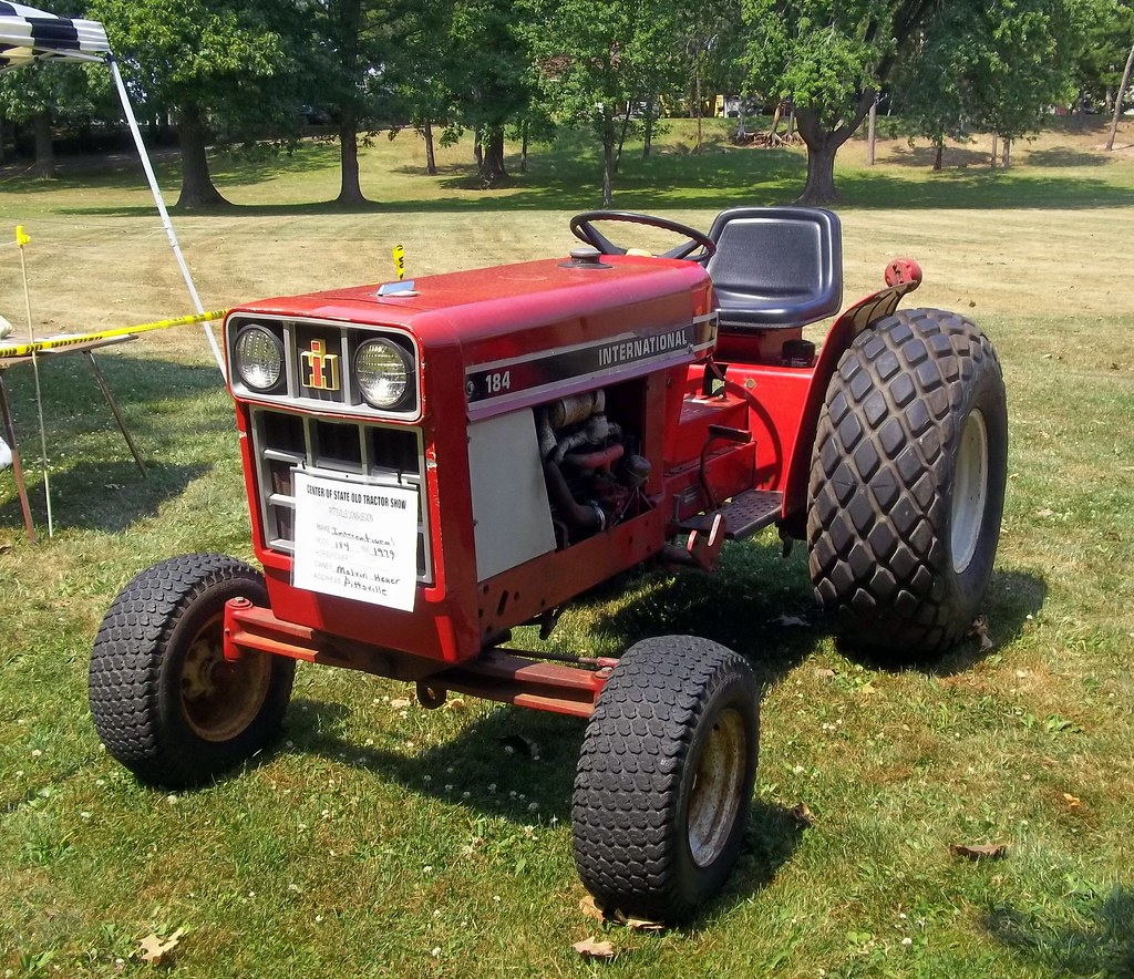 1979 International 184 Tractor Mark Flickr
