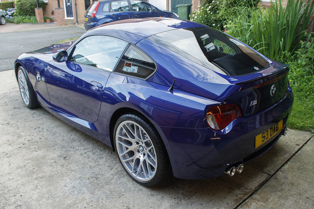 Z4 With New Sills Boot Spoiler And Csl Wheels Darren
