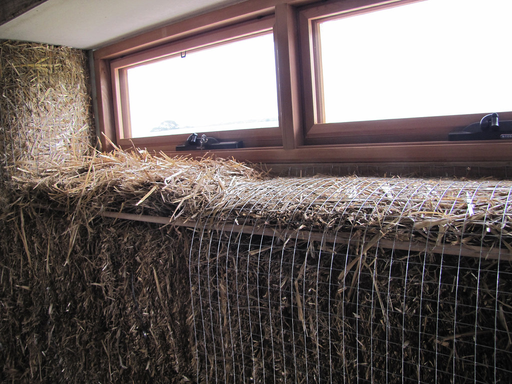 High window sills strawbale house build in redmond weste for High windows in house