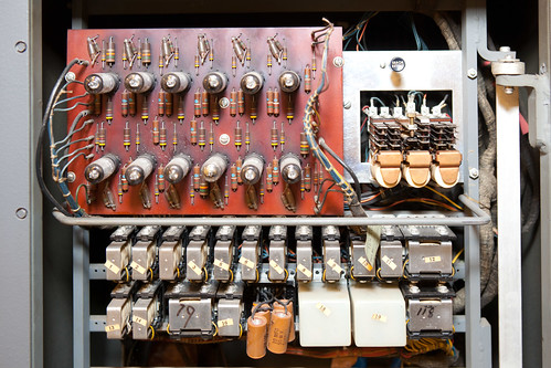 IBM 83 card sorter, vacuum tubes and relays | by hudson