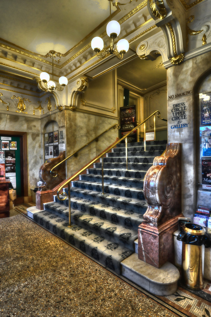 Opera House Foyer : Buxton opera house foyer copyright blah illegal