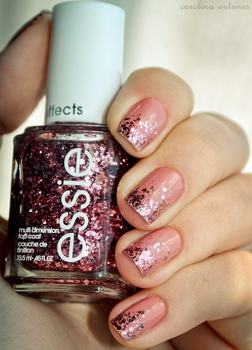 Innocent + A Cut Above - Essie (Ombré Nails!) | by carol antunes