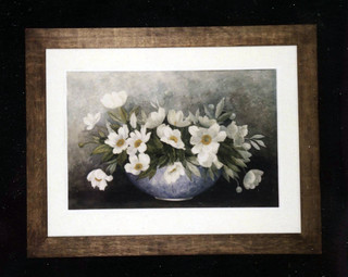 White Peonies | by Watertown Free Public Library (MA)