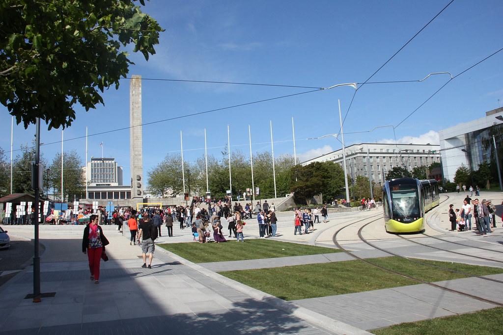 lancement du tramway le 23 juin 2012 brest le haut de l flickr. Black Bedroom Furniture Sets. Home Design Ideas
