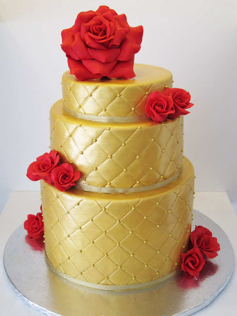 All Red Wedding Cakes