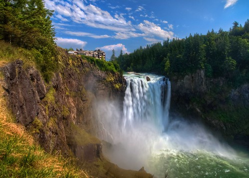 Summer Flow at Snoqualmie Falls | by Fresnatic
