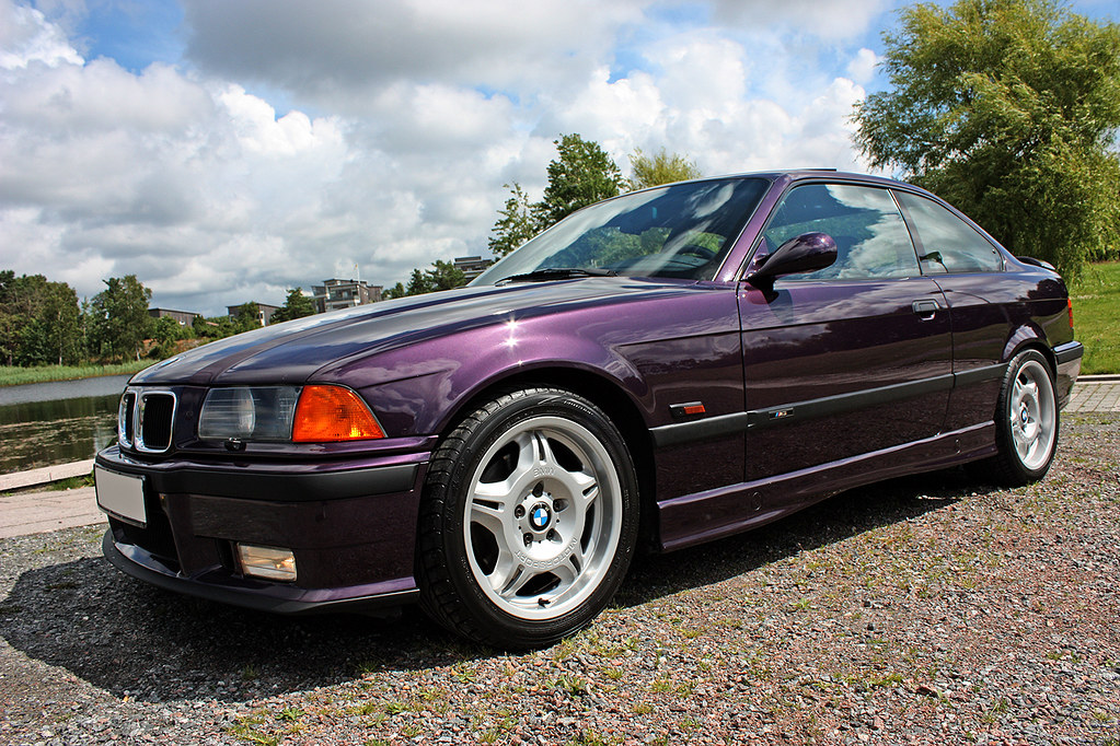 Bmw M3 E36 3 0 1994 Daytona Violet My Lowmilage