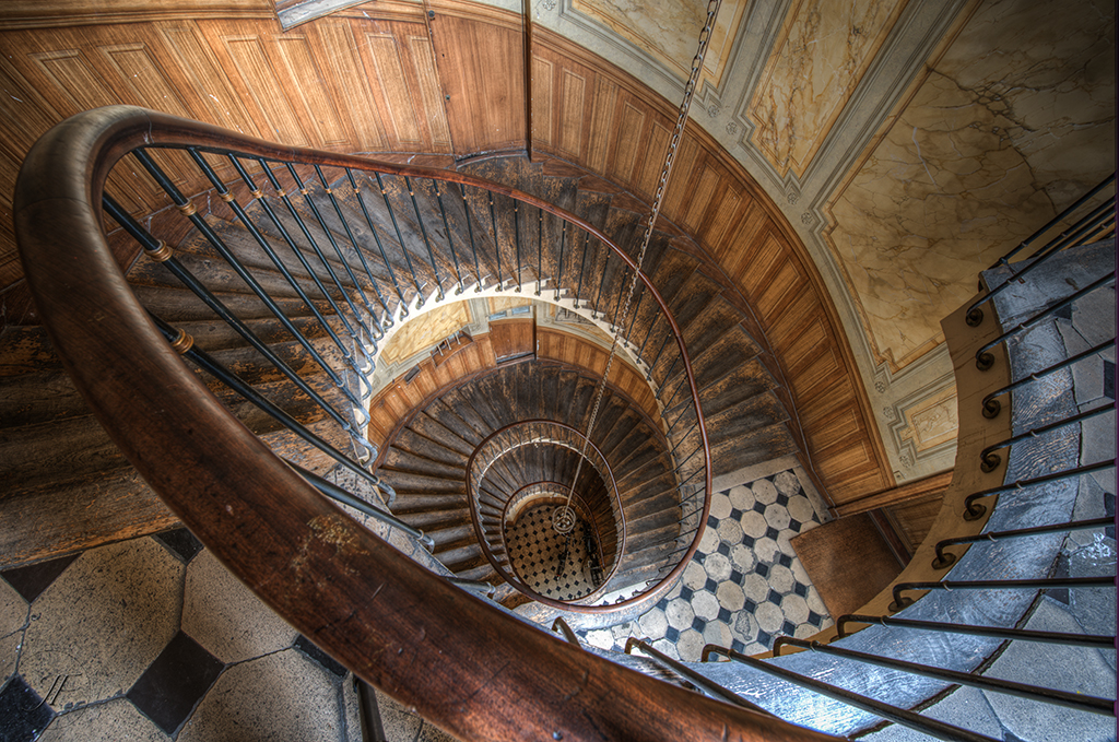 escalier de la galerie vivienne stairs from the vivienne flickr. Black Bedroom Furniture Sets. Home Design Ideas