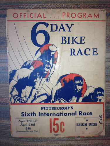 Pittsburgh 6 Day Bike Race Program April 1938 | by ddsiple