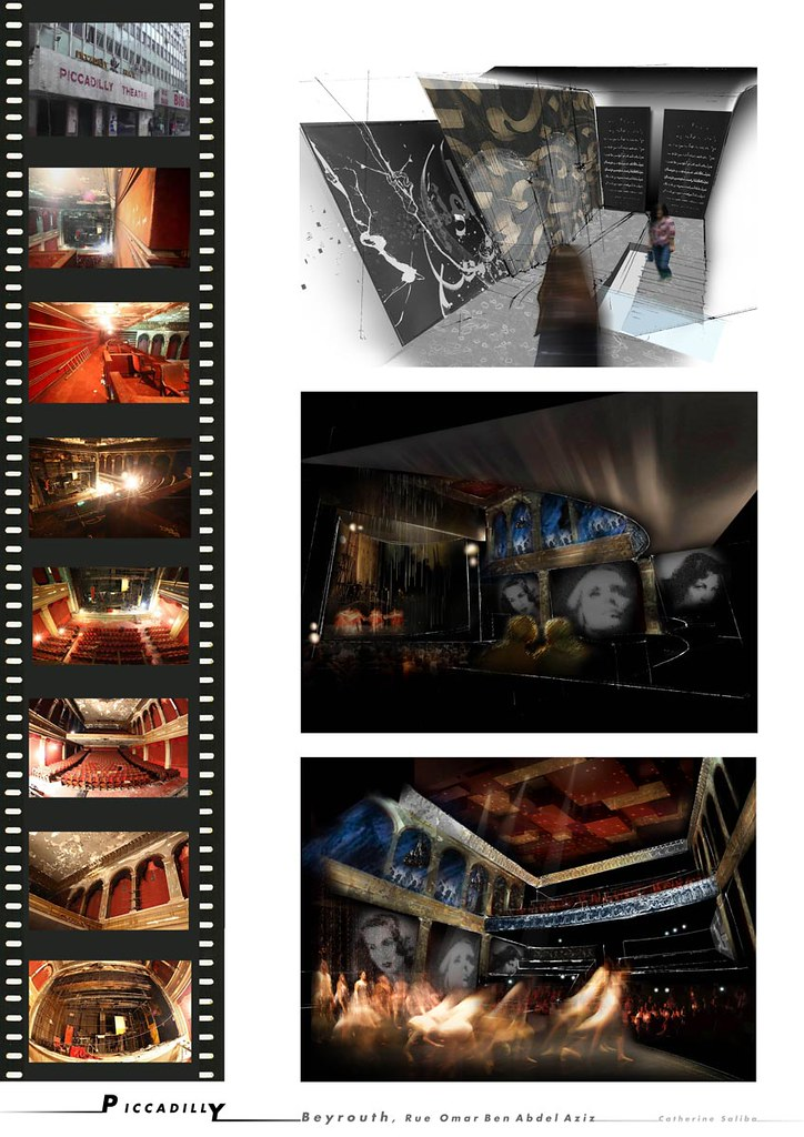 Picadilly theater beyrouth 5 me ann e d 39 architecture in for Architecture interieur formation