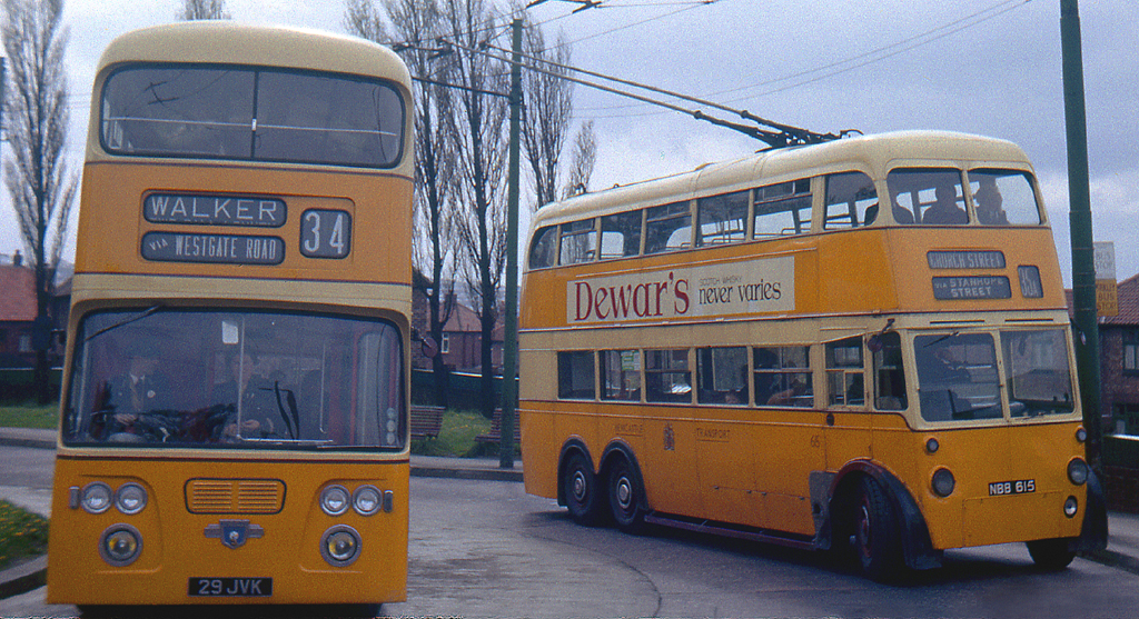 B0012. Newcastle Trolleybus. May,1964. | 1964/05.B12. Anothe… | Flickr
