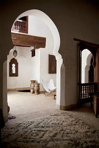 dar rafti in fez | by the style files