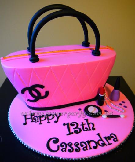 Chanel Nail Polish Cake: Www.cakemetoyourparty.com.au I
