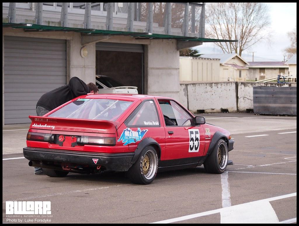 Toyota Ae86 Race Car Bwarp Net Nz Flickr