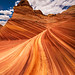 Swirling Sandstone - The Wave, Coyote Buttes North, Arizona