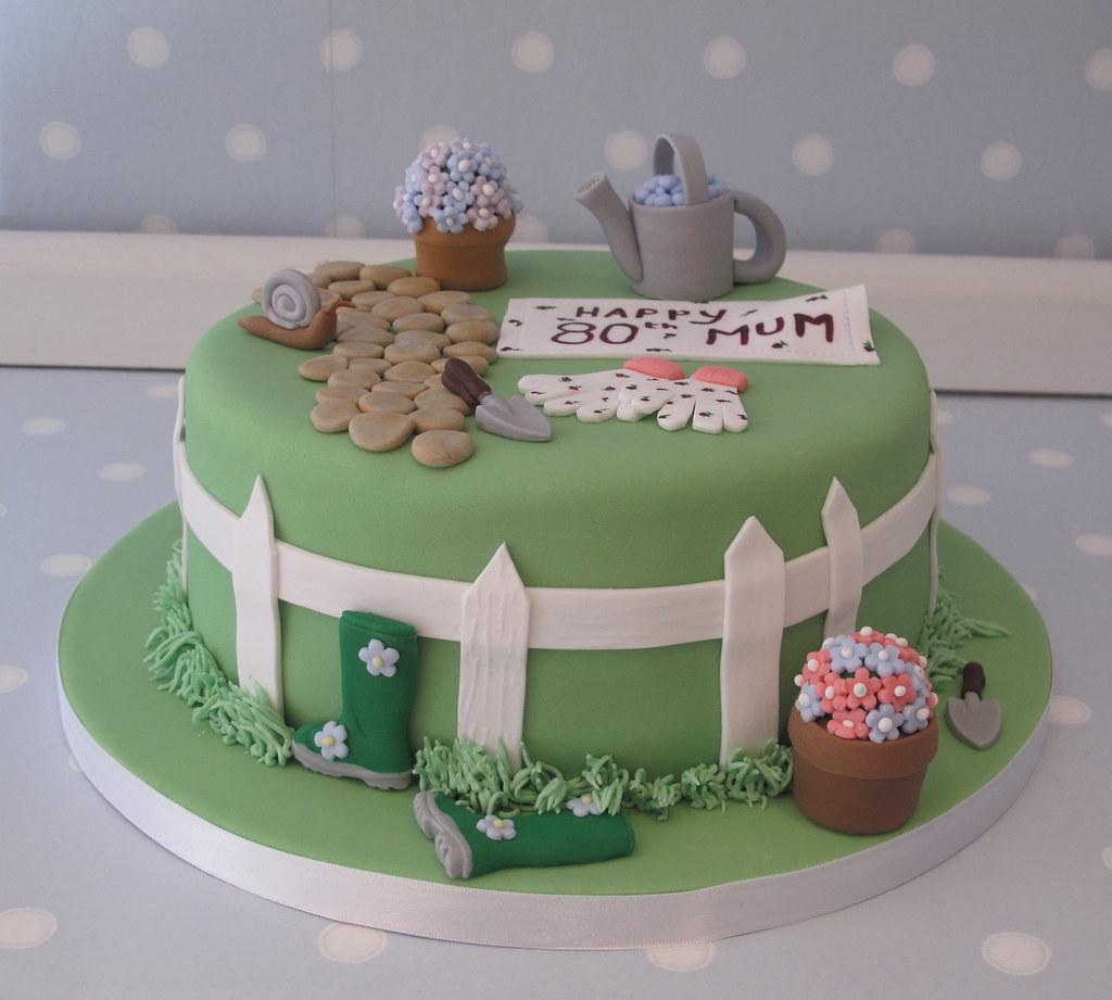 Gardening Themed Cake Ideas