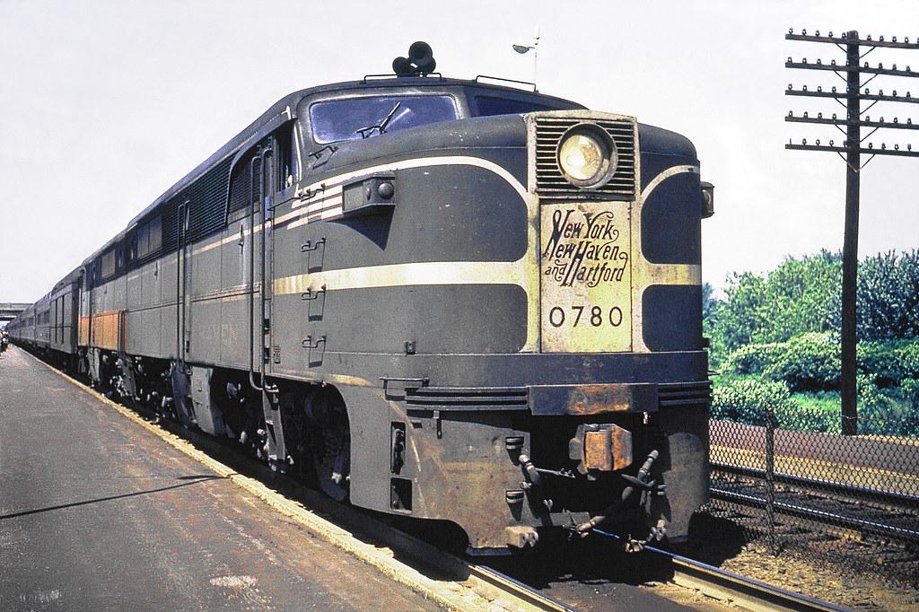 New Haven Railroad Der 3a Alco Pa 1 Locomotive 0780 Alo