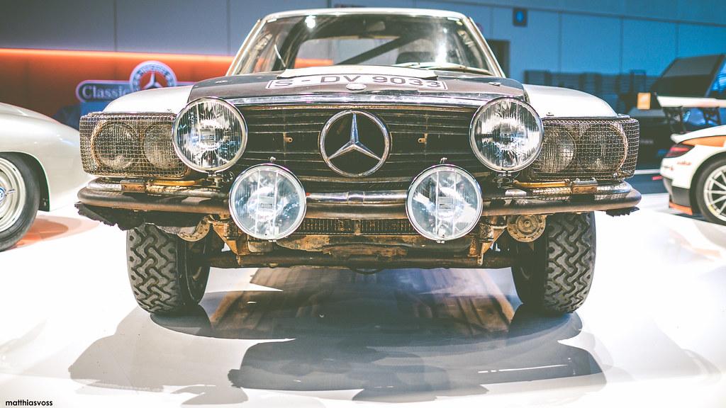 Mercedes Benz  Slc Rally Car