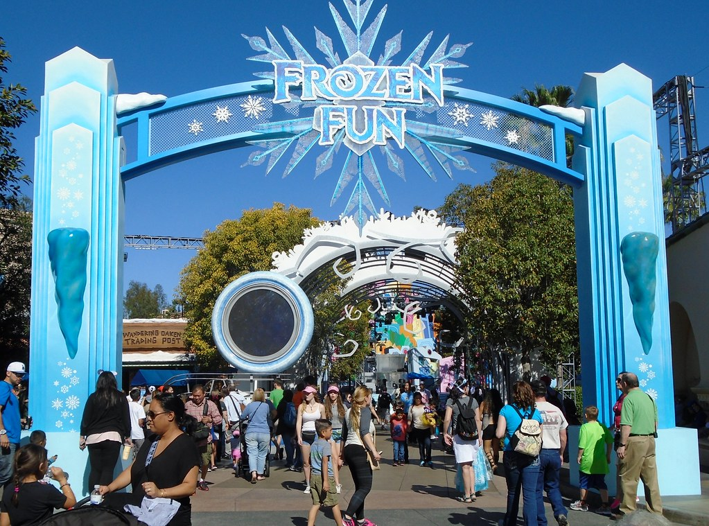 Map of Disneyland California Adventure Park California Adventure Park