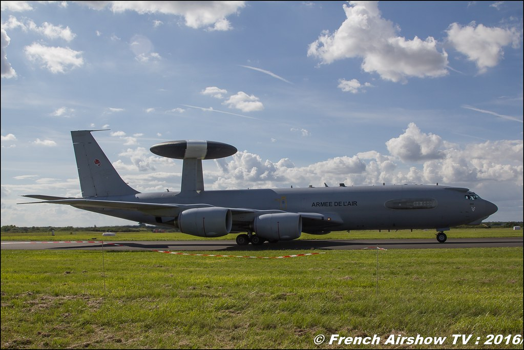 awacs ,Meeting de l'air BA-702 Avord , Meeting Aerien Avord 2016 , FOSA , Armée de l'air , Canon Reflex , EOS System