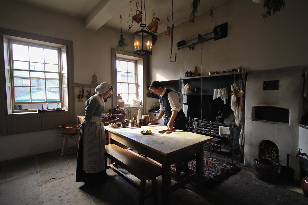 Working 18th Century Kitchen Wordsworth House Cher