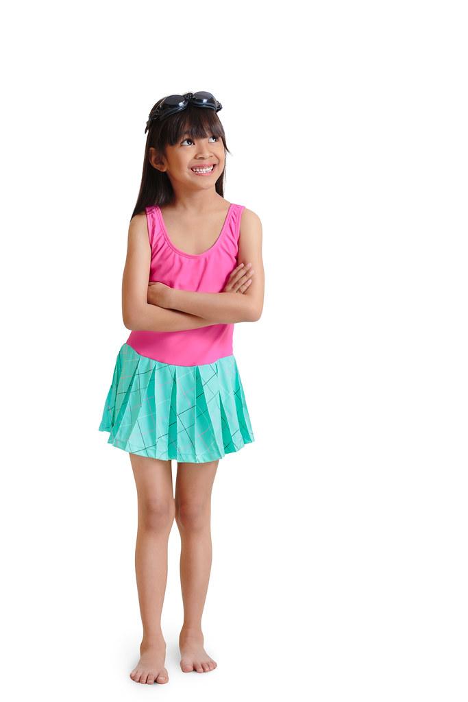 Young tiny asian girl