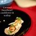 London Food Blog - Startisans, Covent Garden - Tasting Room, 'Caramel Sweetheart' cauliflower & scallop
