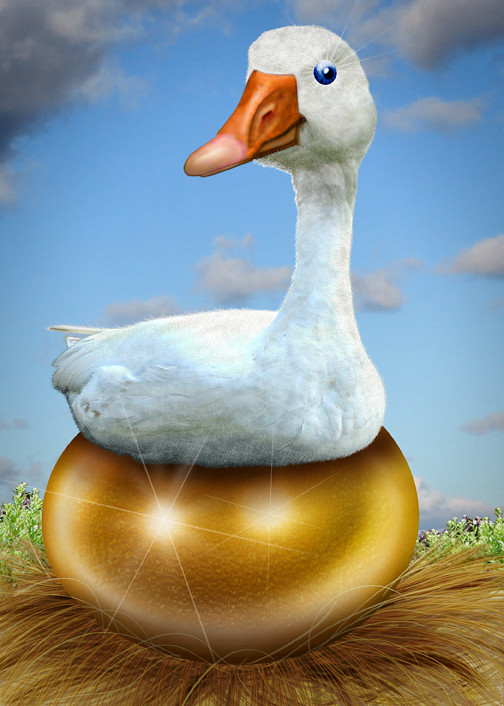 Golden Goose - Caricature | This caricature of The Goose ... Golden Goose Eggs