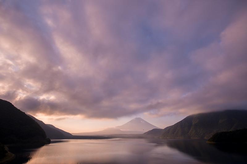 富士山を撮る。