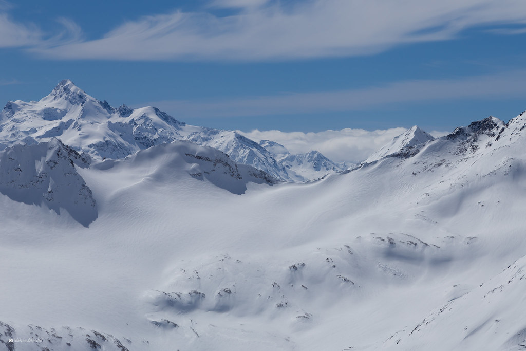 View from Elbrus, 3250m