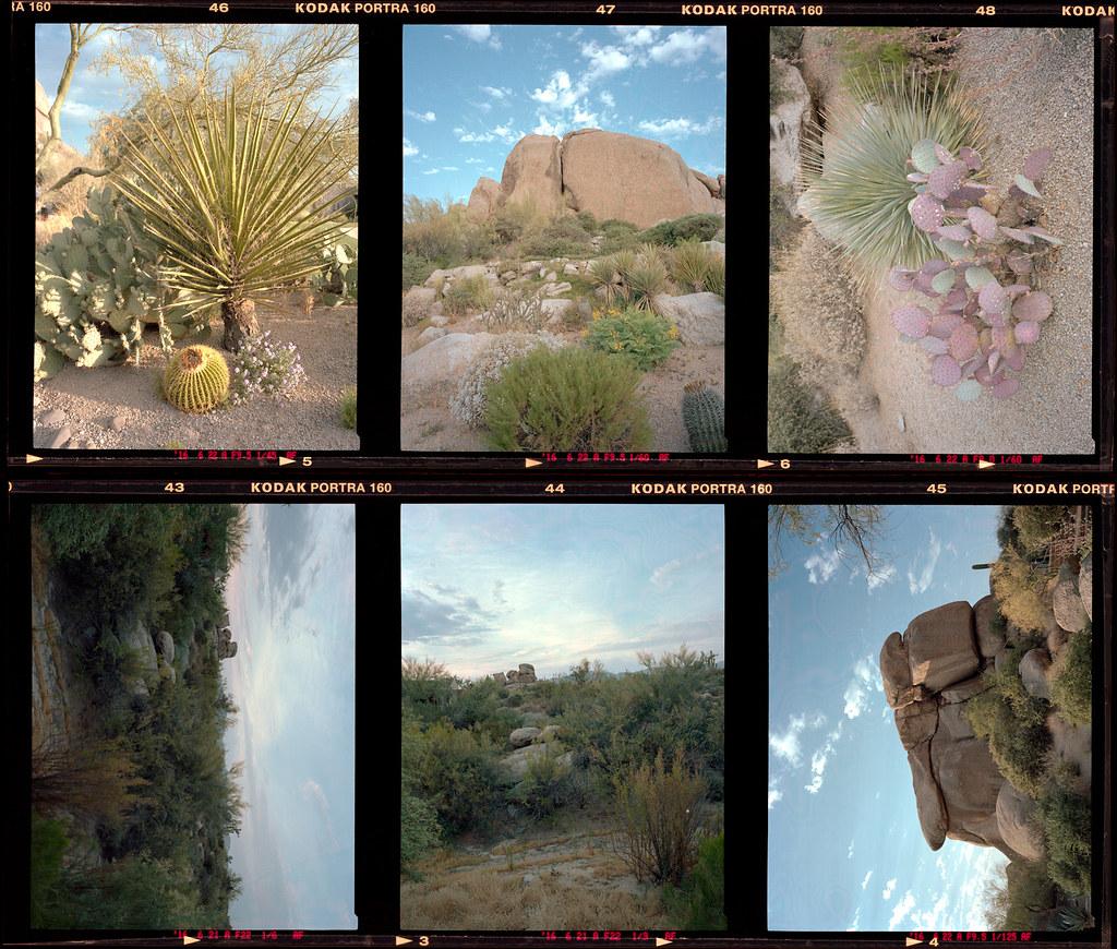 Arizona Filmstrip Proofs Kodak Portra 160 Film The