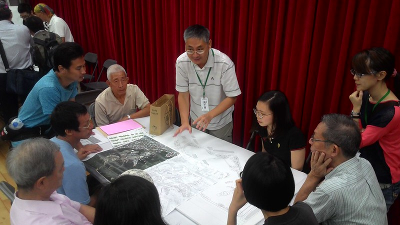 願景工作坊中,觀察家生態顧問有限公司總經理黃于玻擔任其一組桌長。攝影:林倩如。