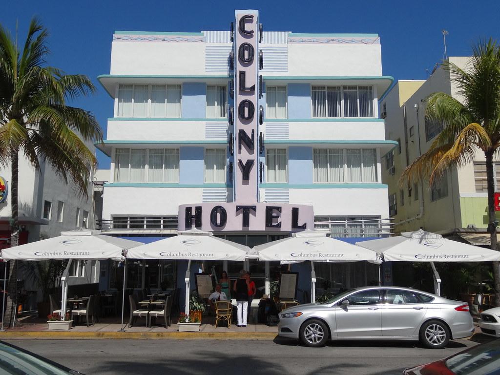 miami beach - art deco district - colony hotel | miami