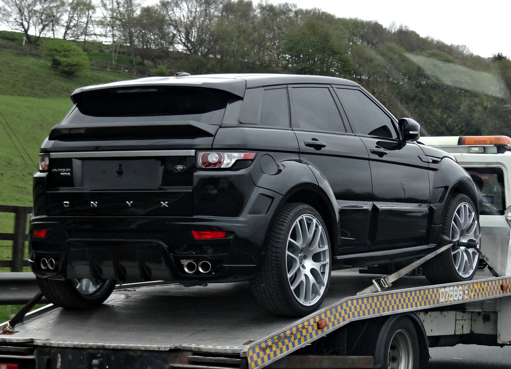 Range Rover Com >> Onyx Range Rover Evoque | A mean looking Ranger Rover Evoque… | Flickr