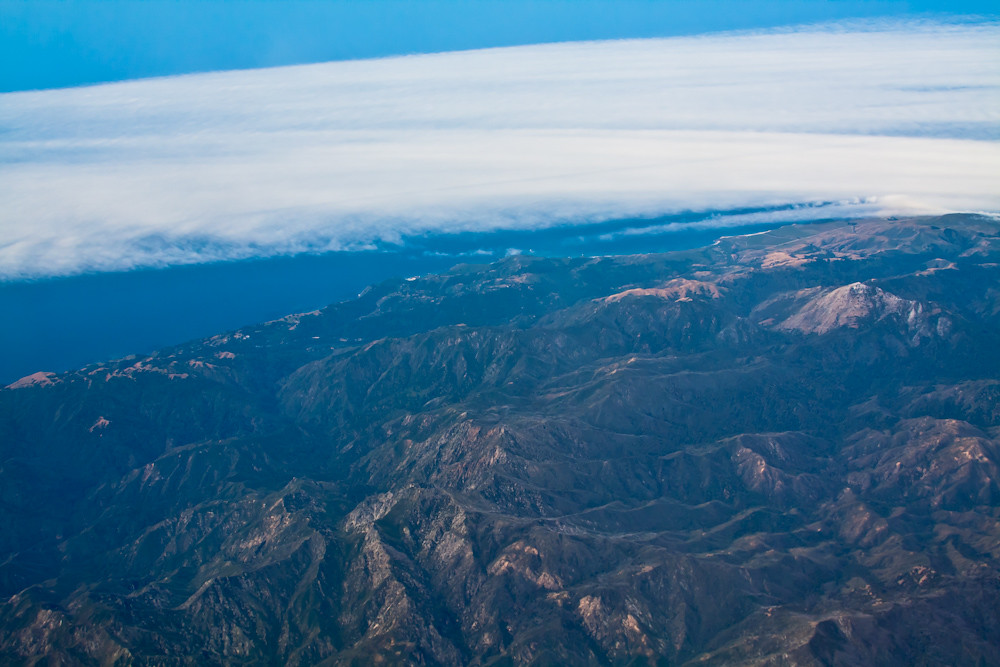 25,000 ft Piece of California | Flickr - Photo Sharing!