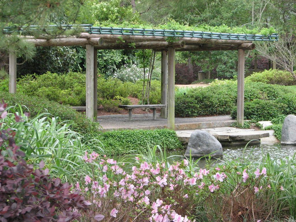 Japanese Garden Hermann Park Snap713 Flickr
