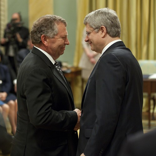 Thank you, @TedMenzies for helping to build a stronger Canada. Our loss is your community's gain. | by PM Stephen Harper