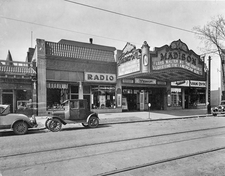madison movie theater madison ave 1930s albany ny pine hi