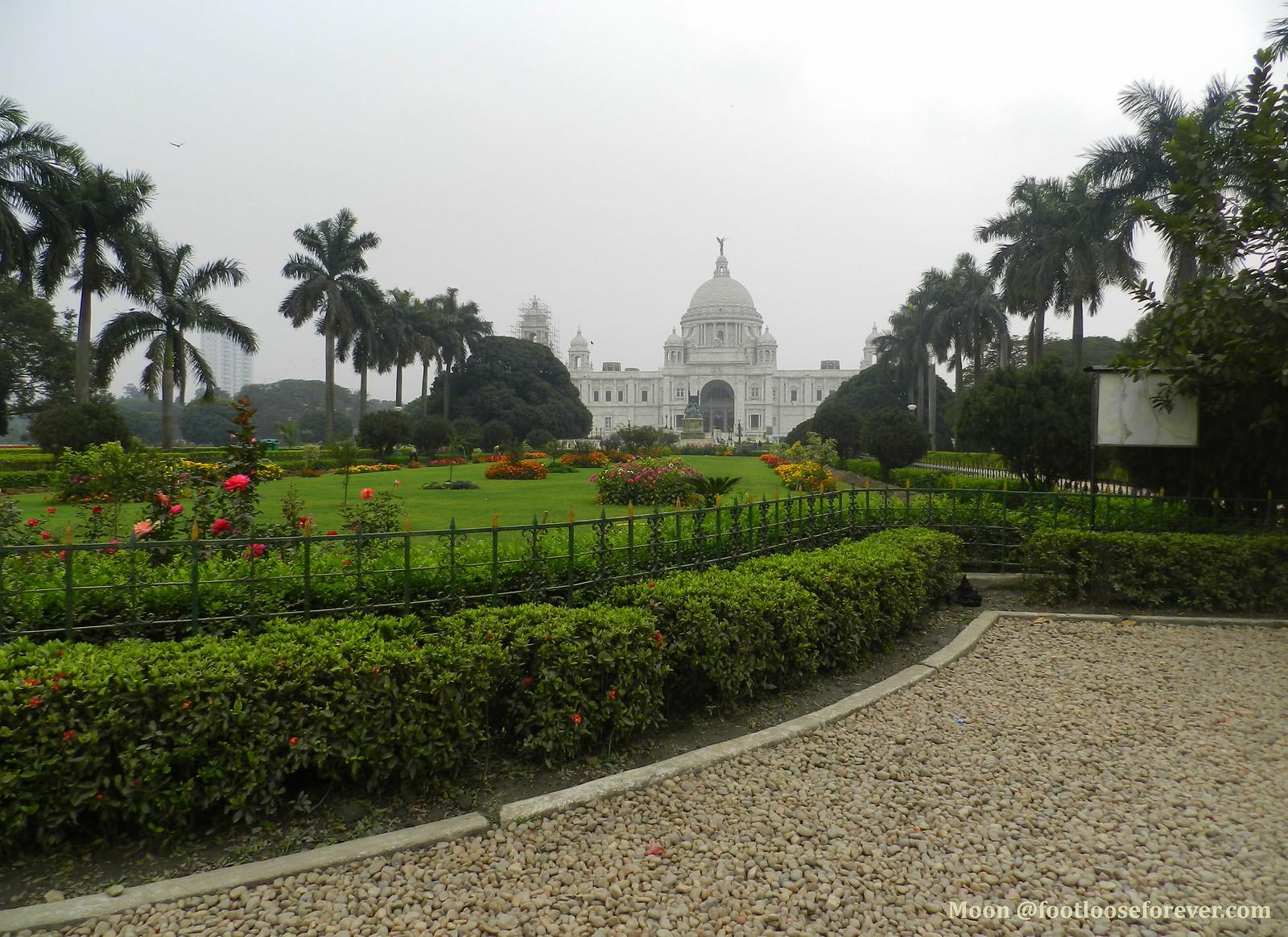 victorial memorial hall, kolkata, victorian architecture
