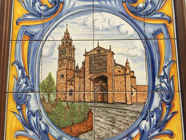 La Colegiata de Talavera en azulejos