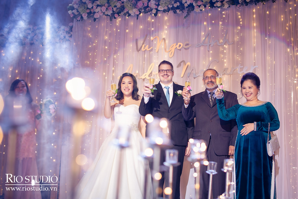 Phóng sự cưới Andrew - Ngọc Anh