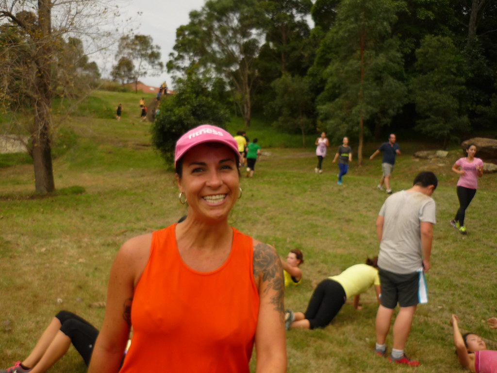 Fat Burn Week 3  Supa Centa Hill Workout, Bootcampsydney -6854
