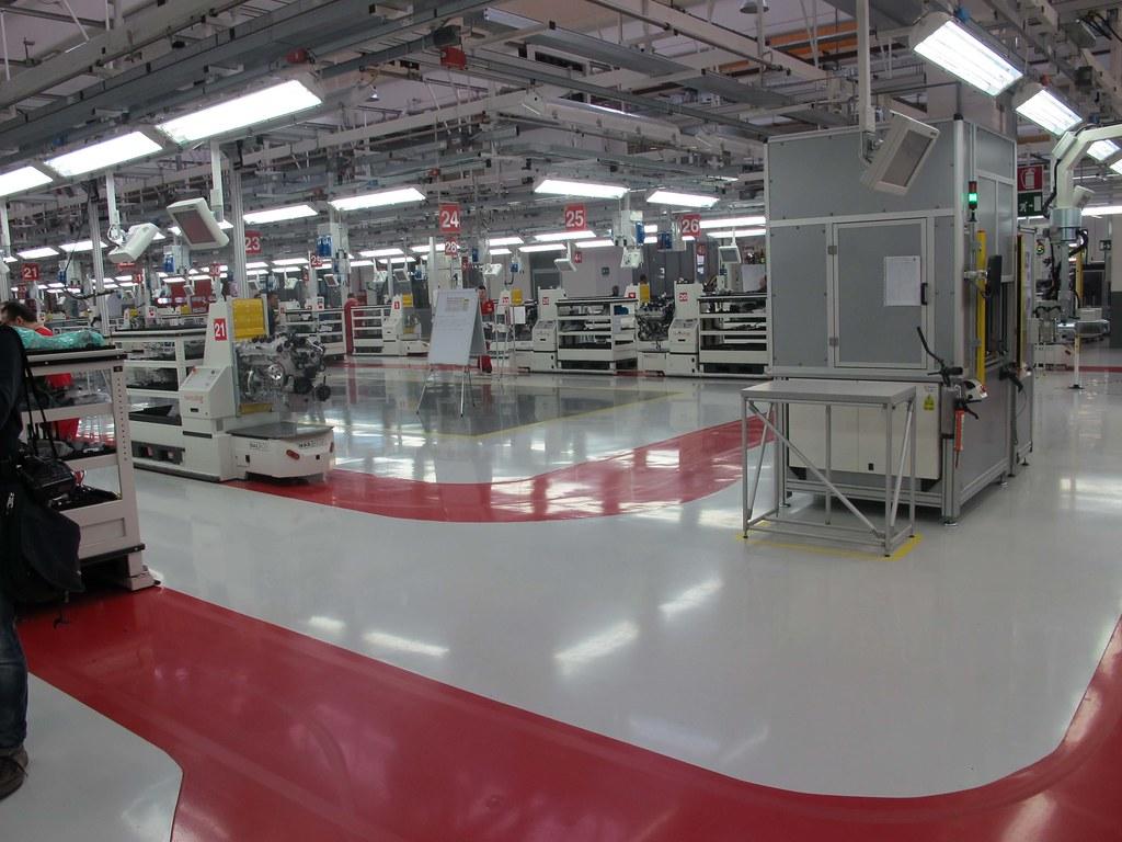 Ferrari Factory Tour In Maranello Italia 13