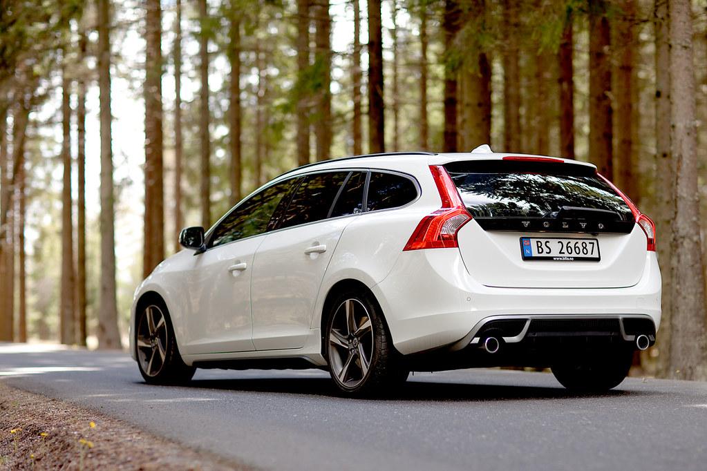 Volvo V60 R Design My New Car Ice White Volvo V60 R