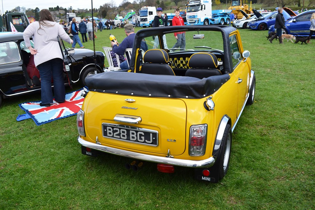 1984 austin mini cooper mark v cabriolet b28 bgj flickr. Black Bedroom Furniture Sets. Home Design Ideas